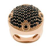 Bronzo Italia Bold Pave-Set Crystal Ring - J311954