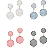 Joan Rivers Set of 4 Clip or Pierced Simulated Pearl Ball Earrings - J352054