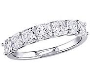 Affinity 14K 1.65 cttw Cushion-cut Diamond 7-Stone Band Ring - J381354