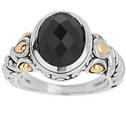 JAI Sukhothai Sterling & 14K Gold Accent Gemstone Ring - J284755