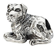 Prerogatives Sterling Rottweiler Bead - J299555