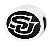 Sterling Silver Southern University Bead - J300755