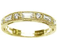 Judith Ripka Sterling/14K Clad 1.20cttw Diamonique Ring - J339755