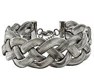 Steel by Design Polished Braided 7-1/4 Bracelet - J343155