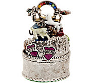 Kirks Folly Best Friends Rainbow Bridge Trinket Box - J353855