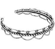 Carolyn Pollack Sterling Positano Cuff Charm Bracelet - J384755