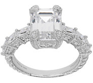 Judith Ripka Sterling Silver 7-Stone 3.50 cttwDiamonique Ring - J385355