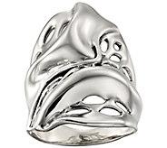 Hagit Sterling Organic Design Ring - J390455