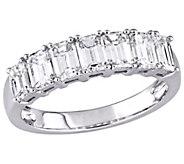 Affinity 14K 1.75 cttw Emerald-Cut 7-StoneDiamond Ring - J381356