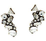 BaubleBar Crystal Cluster Ear Climber Earrings - J335457