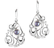 Hagit Sterling & Cultured Freshwater Pearl Openwork Earrings - J340557