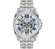 Bulova Mens Automatic Stainless Steel Watch - J343857