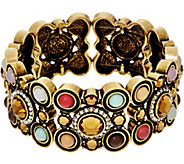 LOGO Links by Lori Goldstein Bubble Stretch Bracelet - J346957