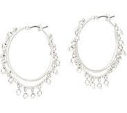 Samantha Wills Nightfall Small Hoop Earrings with Dangle Beads - J356057