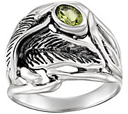 Hagit Sterling 0.50 ct Peridot Ring - J390457
