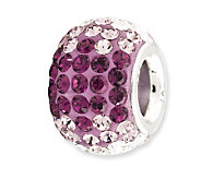 Prerogatives Sterling Purple Crystal Bead - J113158