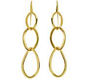 Arte dOro Polished & Satin-Finish Triple Dangle Earrings, 18 - J310058