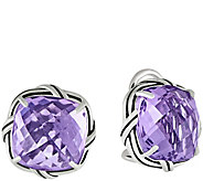 Peter Thomas Roth Sterling Cushion-Cut Gemstone Earrings - J349858