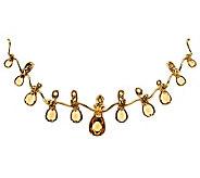Carolyn Pollack 10.50 ct Champagne Citrine & Brass Enhancer - J343259
