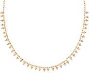 Melinda Maria Mini Fringe Necklace - Petra - J352159
