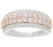 Affinity Diamond Natural Pink Diamond Band Ring, 1.00 cttw, 14K - J356559