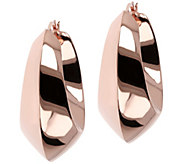 Bronzo Italia 1-1/2 Polished Bold Hoop Earrings - J385959