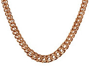 Bronzo Italia 18 Graduated Cage Link Necklace - J311960
