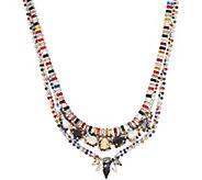 LOGO Links Double Row Princess Necklace - J350460