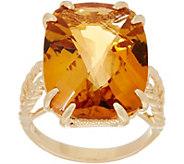 14K Gold Elongated Cushion Gemstone Ring - J353860