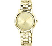 Nine West Ladies Goldtone Ina Bracelet Watch - J380960