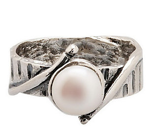 Or Paz Sterling 7.0mm White Cultured Freshwater