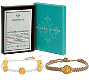As Is My Saint My Hero Gratitude Blessing Bracelet Set - J353861