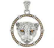 JAI Sterling Silver & 14K Gold & Gemstone Leo Enhancer, 19.8g - J354961