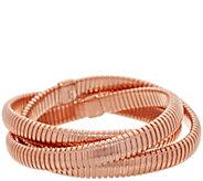Bronzo Italia Multi Layer Tubogas Bronze Bracelet - J357861