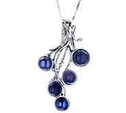 Hagit Gorali Sterling Gemstone & Cultured PearlNecklace - J308362