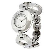 RLM Stainless Steel Organic Circle Adjustable Watch - J329662