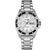 Tourneau Ladies Stainless White Dial Analog Sport Watch - J380662