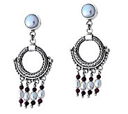 Novica Artisan Crafted Sterling Classic Harmony Earrings - J304063