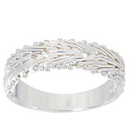 Imperial Silver Mirror Wheat Band Ring, Sterling Silver - J354763