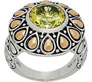 JAI Sterling Silver & 14K Gold Gemstone Lotus Petal Ring - J355663