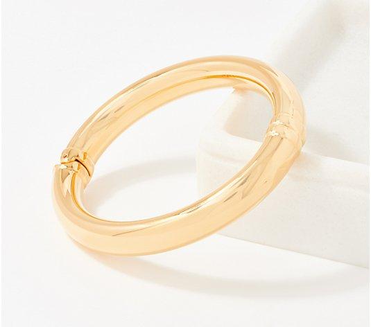 Oro Nuovo Hinged Small Bangle 14k Gold