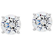 Diamonique 5.00 cttw Round Stud Earrings, Sterling - J330464