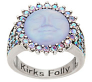 Kirks Folly Petite Seaview Moon Ring - J353064
