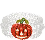 Kirks Folly Starlight Pumpkin Stretch Beaded Bracelet - J356864