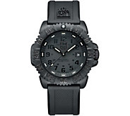 Luminox Mens Navy Seal Blackout Colormark Watch - J379564