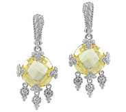Judith Ripka Sterling Diamonique Olivia Earrings - J380564
