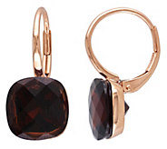 14K Gold 9.50 cttw Garnet Lever Back Earrings - J392264