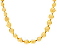 As Is Oro Nuovo 20 Polished Nugget Necklace, 14K - J348965