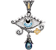 Barbara Bixby Sterling & 18K Gold Evil Eye Enhancer - J352065