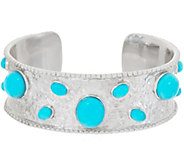Turquoise Bold Cuff, Sterling Silver - J356665
